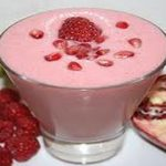 Pomegranate, Berry and Banana Smoothie ( Video )