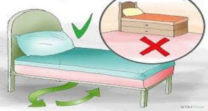 FENG SHUI RULE DO NOT STORE ANYTHING UNDER THE BED, EXCEPT ONE THING!