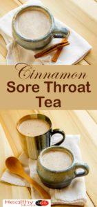 CINNAMON SORE THROAT TEA – AMAZING RESULTS ( VIDEO)