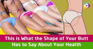 This Is What The Shape Of Your Butt Has To Say About Your Health (VIDEO)
