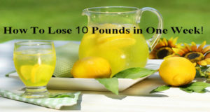 FAST AND EFFECTIVE DIET TO LOSE 10 POUNDS IN 7 DAYS!