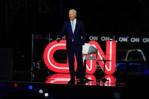 US election: Joe Biden gets angry during CNN town hall